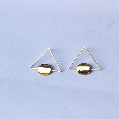 Triangle Dangle Earring - RHIZMALL.PK Online Shopping Store.