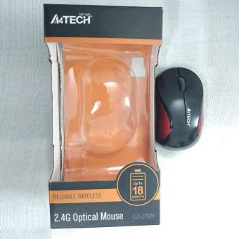 A4Tech Optical Wireless Mouse G3-270N - RHIZMALL.PK Online Shopping Store.
