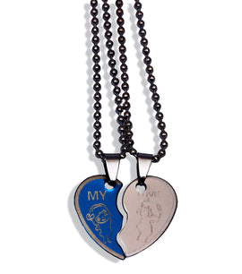 My Love Broken Heart Necklace - RHIZMALL.PK Online Shopping Store.