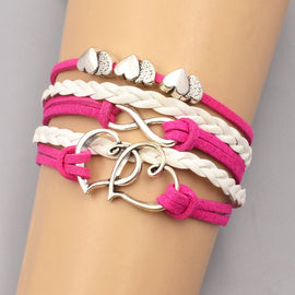 Interinked Heart Bracelet - RHIZMALL.PK Online Shopping Store.