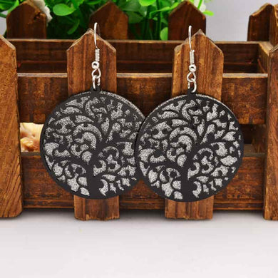 Hollow Tree Earring - RHIZMALL.PK Online Shopping Store.