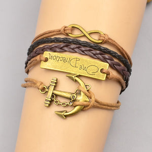 One Direction Bracelet - RHIZMALL.PK Online Shopping Store.