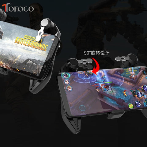 S6 All-in-One Game Controller Joystick Free Fire Key Button PUBG Gamepad - RHIZMALL.PK Online Shopping Store.
