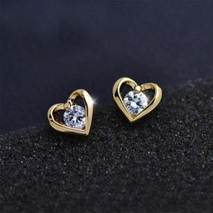Heart Sterling Stud - RHIZMALL.PK Online Shopping Store.