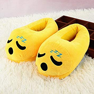 Emoji Slipper Sleepy Warm and Comfortable