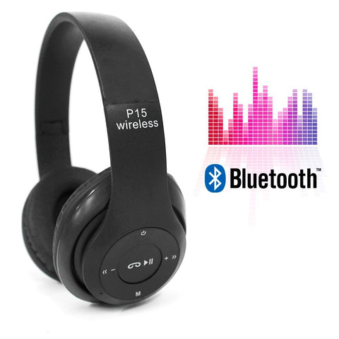 P15 - Wireless Bluetooth Headphone 4.1 With TF Card Support - RHIZMALL.PK Online Shopping Store.