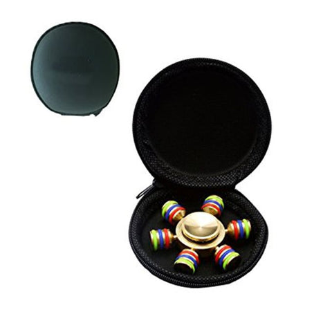 Hexagon Brass Premium Fidget Spinner - RHIZMALL.PK Online Shopping Store.