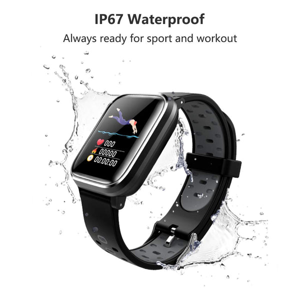 W5 Fitness Smartwatch Heart Rate Smart Band - RHIZMALL.PK Online Shopping Store.