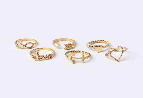 Multitudinous Infinity Rings - RHIZMALL.PK Online Shopping Store.