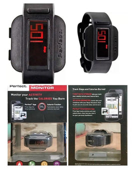 Perfect Fitness Calorie Monitor Watch - RHIZMALL.PK Online Shopping Store.