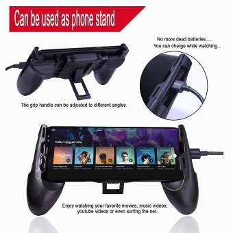 Mobile Game Controller – 3 in 1 Gaming Joystick, Stand, Trigger, Holder, Shooter for Fortnite/PUBG Mobile/Rules of Survival - RHIZMALL.PK Online Shopping Store.