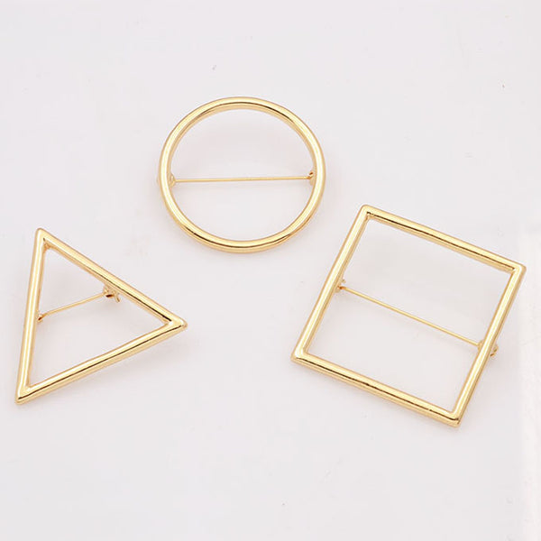 Geometry Shapes Brooch - RHIZMALL.PK Online Shopping Store.