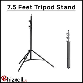 7.5 Feet Light Lamp Umbrella Stand Tripod Ball Head Kit for HTC Vive VR - Black - RHIZMALL.PK Online Shopping Store.
