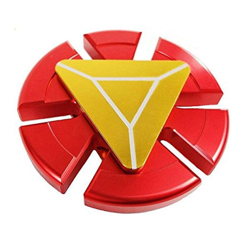 Iron Man Ceramic Cube Bearing Fidget Spinner - RHIZMALL.PK Online Shopping Store.