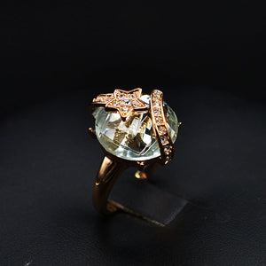 Soprano Crystal Ball Ring - RHIZMALL.PK Online Shopping Store.