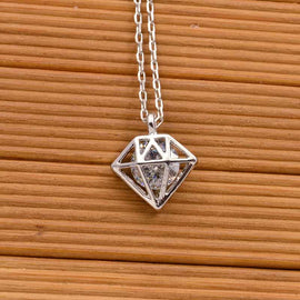 Silver crystal necklace - RHIZMALL.PK Online Shopping Store.