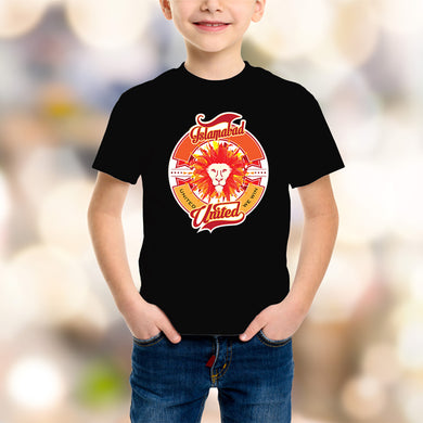 Islamabad United Kids Black T-Shirt - RHIZMALL.PK Online Shopping Store.