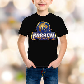 Karachi King Kids Black T-Shirt - RHIZMALL.PK Online Shopping Store.