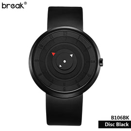 Break Matte Light Sports Creative Watch - RHIZMALL.PK Online Shopping Store.