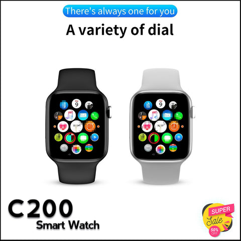 Latest C200 Bluetooth Smart Watch Touch Screen - RHIZMALL.PK Online Shopping Store.