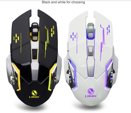 LIMEIDI X1 2.4GHz Wireless Gaming Mouse