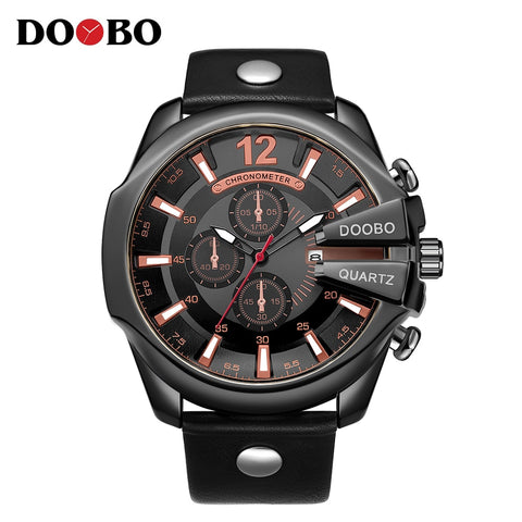 DOOBO Luxury Brand Wrist Watch - RHIZMALL.PK Online Shopping Store.