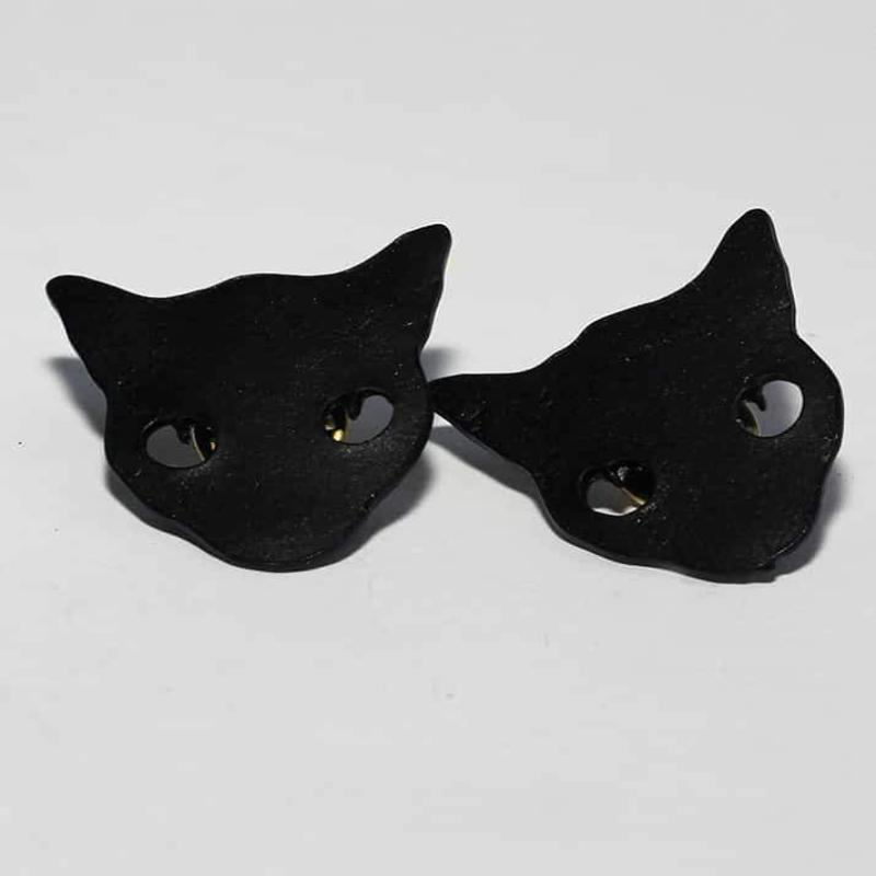 Black Kitty Brooch - RHIZMALL.PK Online Shopping Store.
