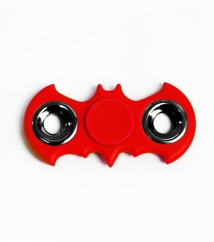 Batman Ceramic Cube Bearing Fidget Spinner- Red - RHIZMALL.PK Online Shopping Store.