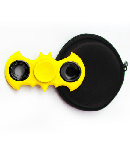 Batman Ceramic Cube Bearing Fidget Spinner- Yellow - RHIZMALL.PK Online Shopping Store.