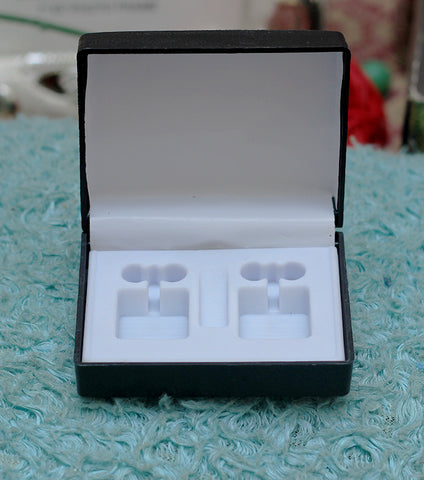 Tuxedo Cufflink Stainless Steel Stud with Free Gift Packaging - RHIZMALL.PK Online Shopping Store.