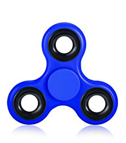 Blue Tri Ceramic Cube Bearing 2 Minute Fidget Spinner - RHIZMALL.PK Online Shopping Store.
