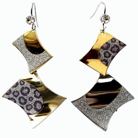 Zinc Alloy Stylish Dangle Drop Earring - RHIZMALL.PK Online Shopping Store.