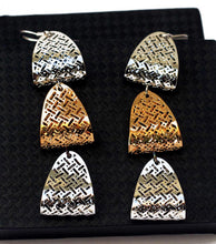 Triple Dangle Drop Earring - RHIZMALL.PK Online Shopping Store.