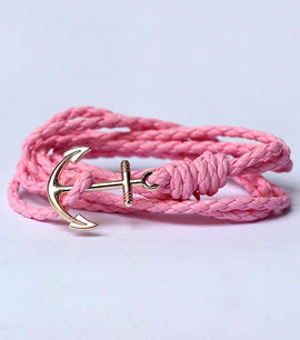 Anchor Alloy Rope Bracelet - RHIZMALL.PK Online Shopping Store.