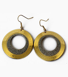 Corsica Golden Circle Earring - RHIZMALL.PK Online Shopping Store.
