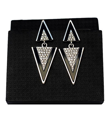Triangle Prism Egyptian Earring - RHIZMALL.PK Online Shopping Store.