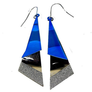 Aqua Drop Blue Earrings - RHIZMALL.PK Online Shopping Store.