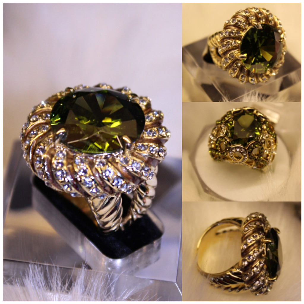 Copy of Green Agate Ring - RHIZMALL.PK Online Shopping Store.
