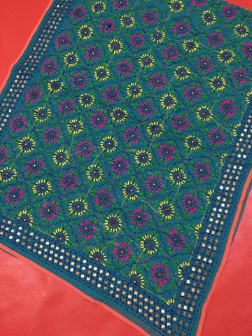 Attractive Botique Pulkarii Dupatta Embroided - RHIZMALL.PK Online Shopping Store.