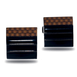 Tetris Stripes Luxury Cufflink - RHIZMALL.PK Online Shopping Store.