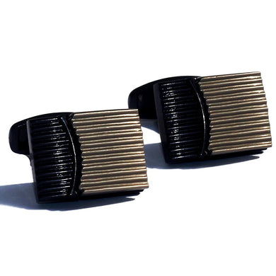 Argyle Stripes Luxury Cufflink - RHIZMALL.PK Online Shopping Store.