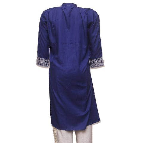 Navy Berry straight kurti