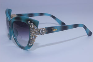 Crystal Beads Polarized Sunglasses For Women - RHIZMALL.PK Online Shopping Store.