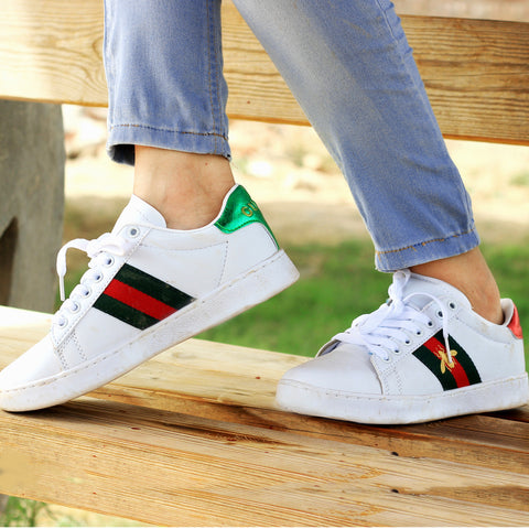 White Bee Comfortable Sneakers