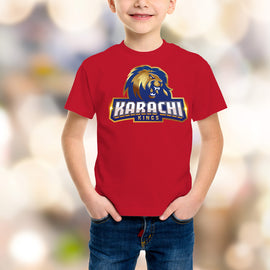 Karachi King Kids Red T-Shirt - RHIZMALL.PK Online Shopping Store.