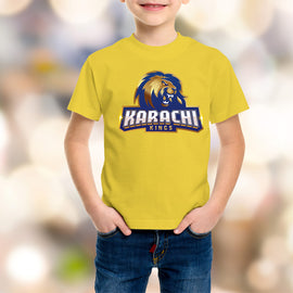 Karachi King Kids Yellow T-Shirt - RHIZMALL.PK Online Shopping Store.