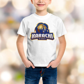Karachi King Kids White T-Shirt - RHIZMALL.PK Online Shopping Store.
