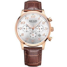 MEGIR Luxury Leather Business Watch