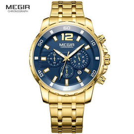 Megir Men's Chronograph Quartz Watch - RHIZMALL.PK Online Shopping Store.