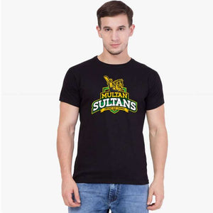 Multan Sultan PSL Black T-Shirt - RHIZMALL.PK Online Shopping Store.